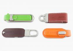 Leder - USB-Stick