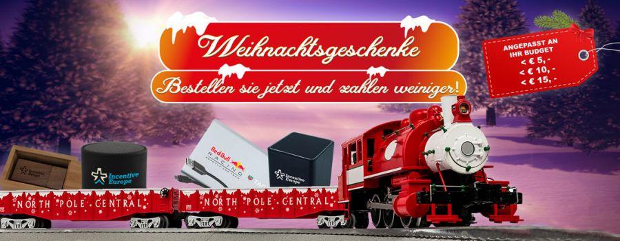 Bestellen Sie jetzt Ihr Weihnachtsgeschenk jetzt und sparen Geld!