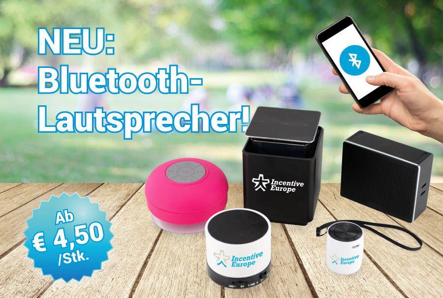 Spätsommerhits – Bluetooth-Lautsprecher