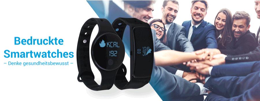 Individualisierte Smartwatch mit Logo